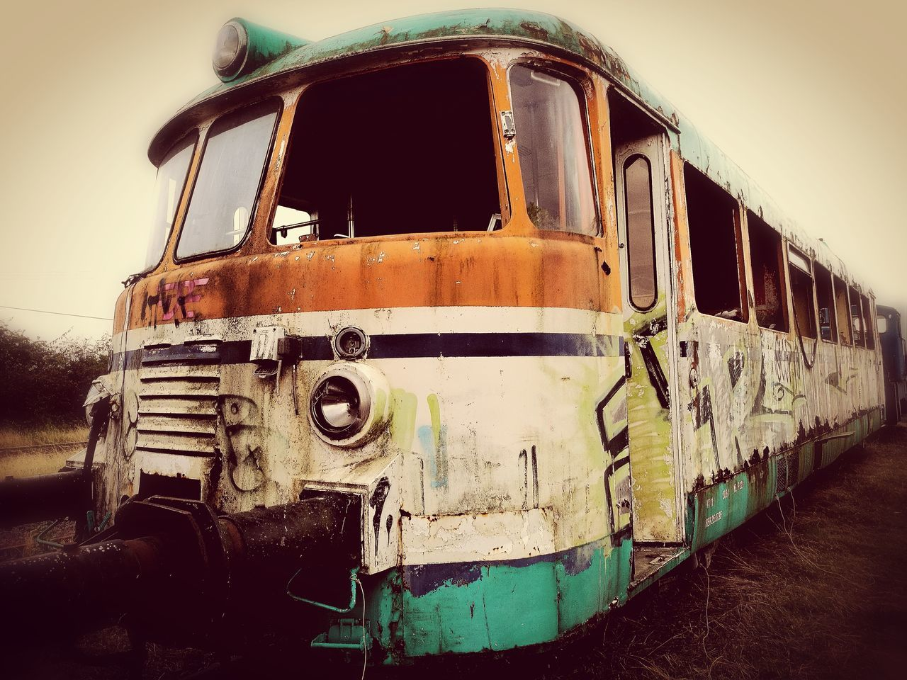 transportation, mode of transport, abandoned, no people, day, outdoors
