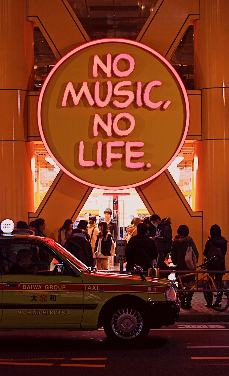 Amen 🎵 City Neon Music Life Tokyo Japan Shibuya Taxi Streetphotography Night Light