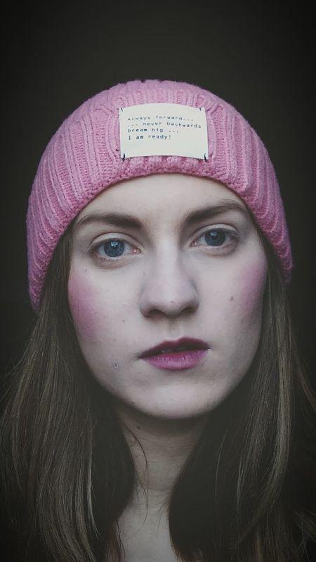 Ready For Winter Selfie ✌ Pink Pink BlueEyes Zarawoman