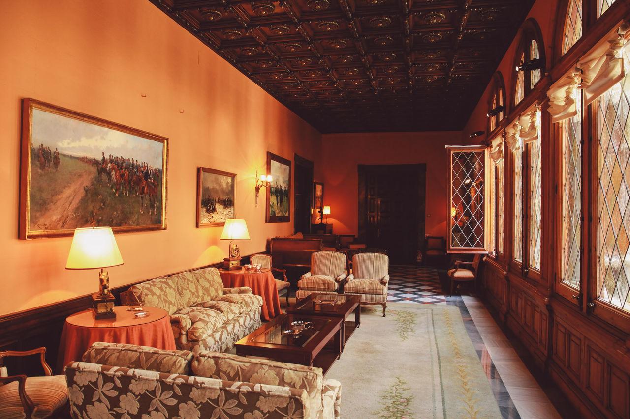 indoors, home interior, luxury, home showcase interior, no people, architecture, illuminated, living room, luxury hotel, day