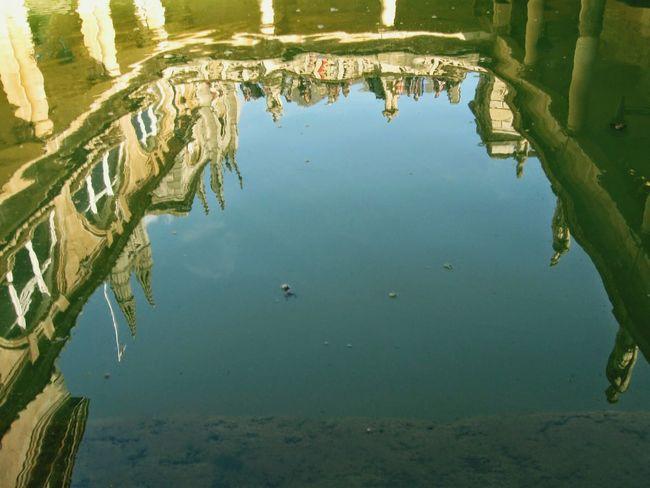 Reflection Roman Bath