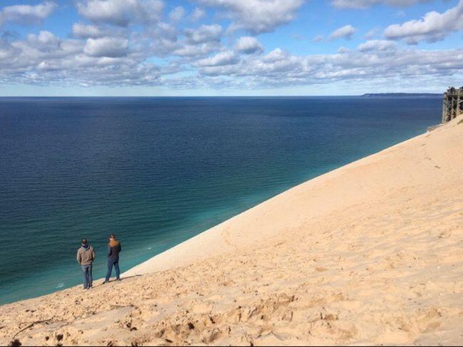 Sandy slope Hikingadventures Michigan Lake Michigan Eye4photography  EyeEm Nature Lover