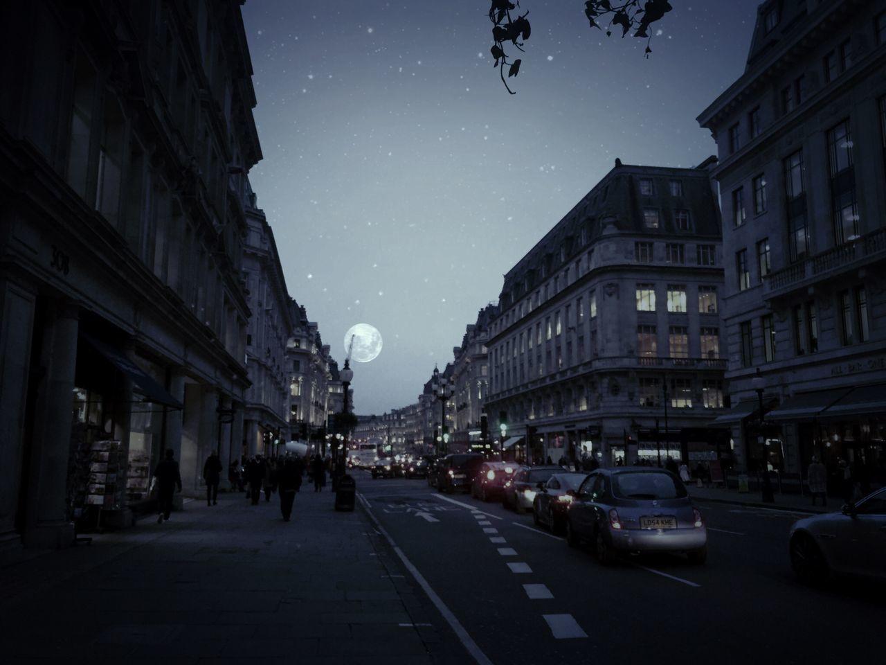 Regent Street at Night RegentstreettLondonnNighttNight LightssStreetphotographyyIPhoneographyyEnglandd