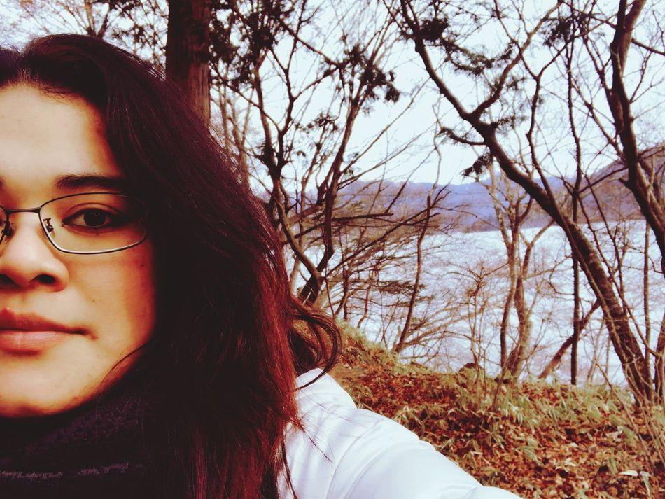 Chuzenjiko lake ... Real People Looking At Camera Beauty In Nature Reflection Tranquility