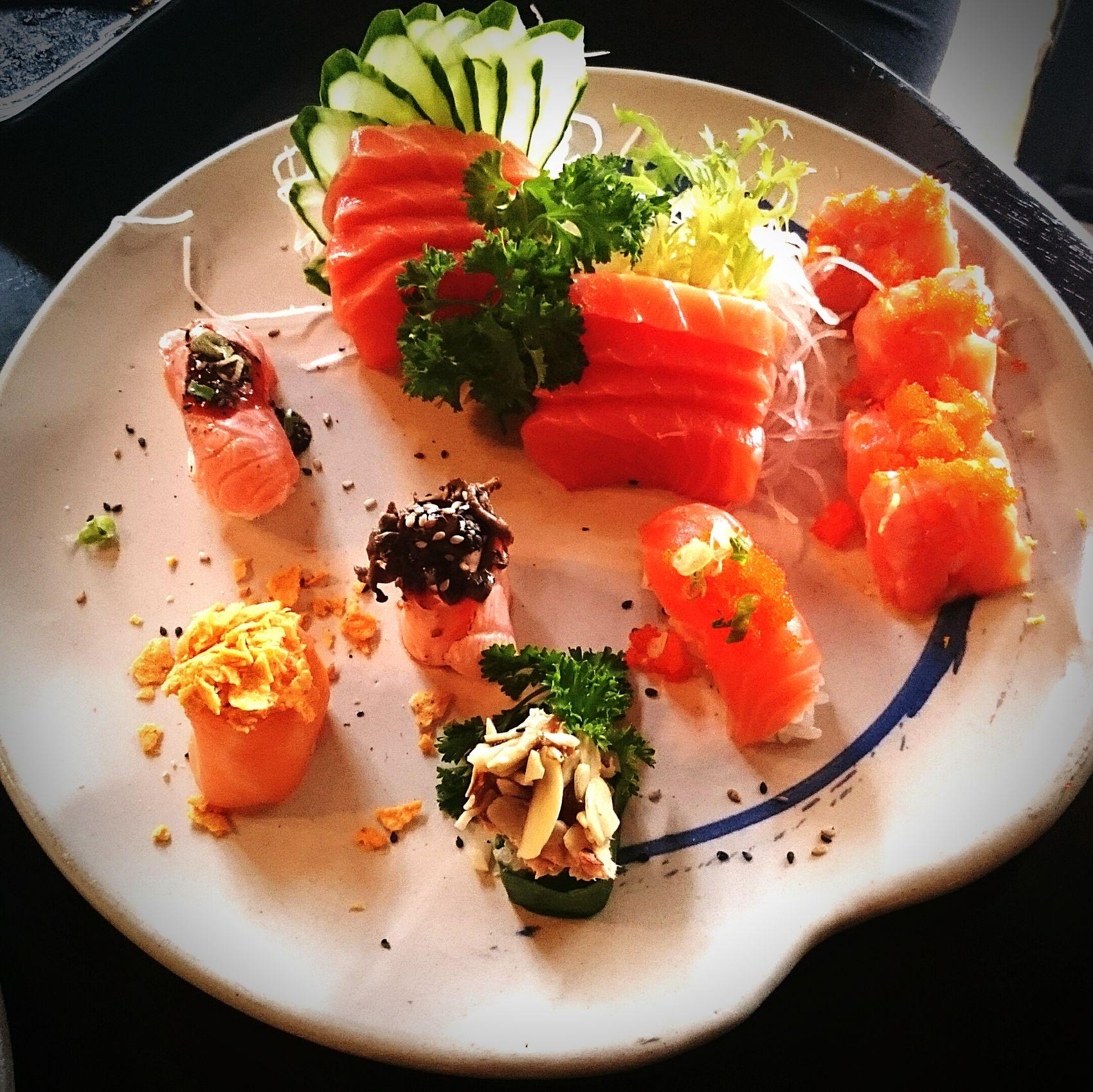 The Foodie - 2015 EyeEm Awards Salmon Sashimi Japanese Food