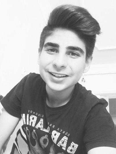 Smile Happy Black&white