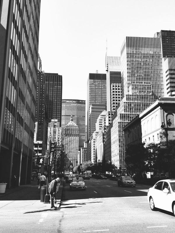 NYC Photography Blackandwhite Black & White Working NYC