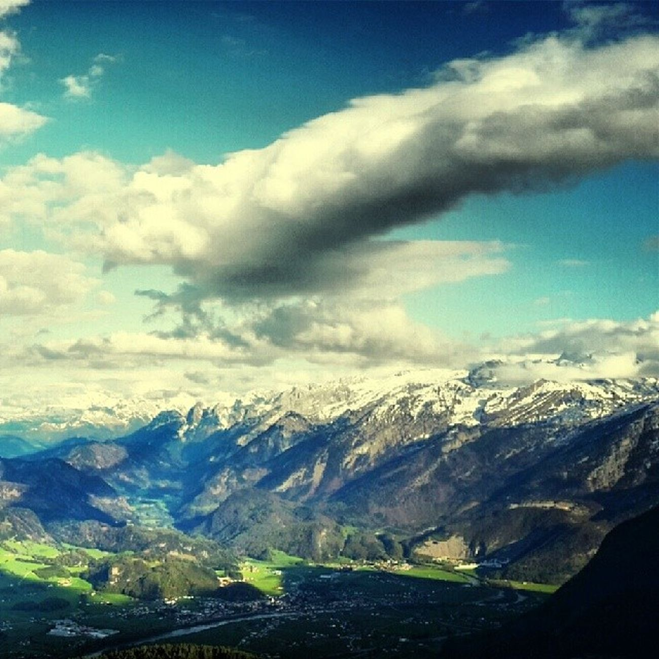 Panorama Rossfeld Austria Schosche