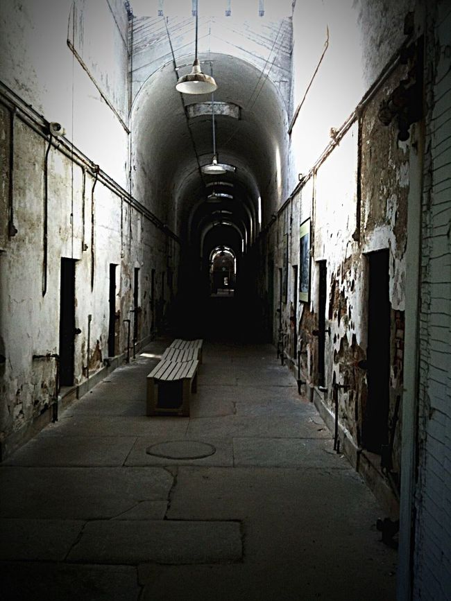 Showcase March Penitentiary Old Prison Philadelphia Love Philly Hometown Simple Photography