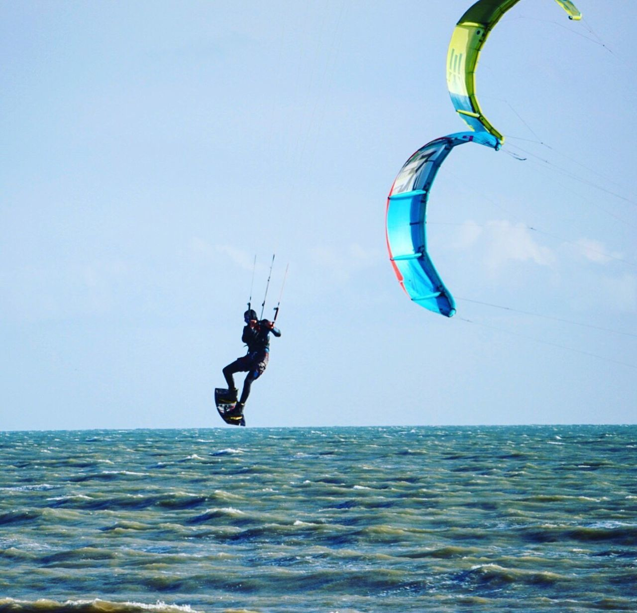 Kitesurfing 9 Sea Water Real People Mid-air Lifestyles Men Horizon Over Water Sky Blue Clear Sky Outdoors Flying Leisure Activity Fun One Person Full Length Nature Day Nautical Vessel Jumping Kitesurfing Worthing Kiteboarding Extreme Sports