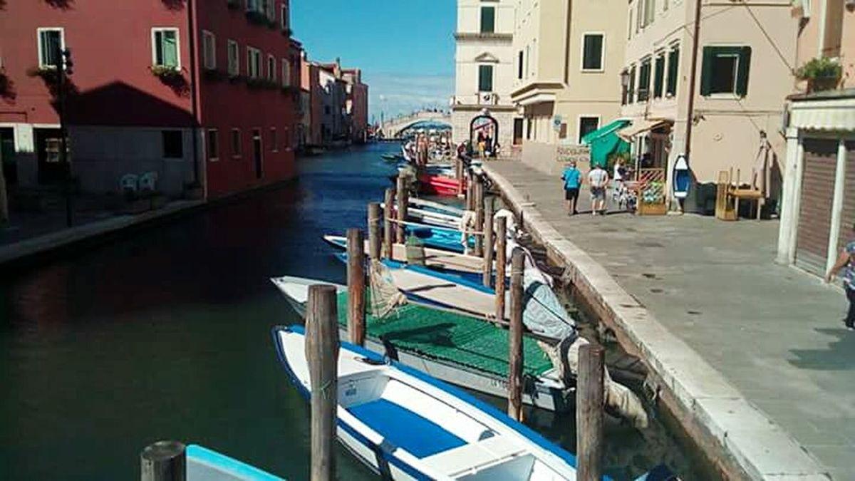 Chioggia Chioggia, Italy Veneto Canale  Laguna Vacations Sky City Canal Architecture Nautical Vessel Travel Destinations Day