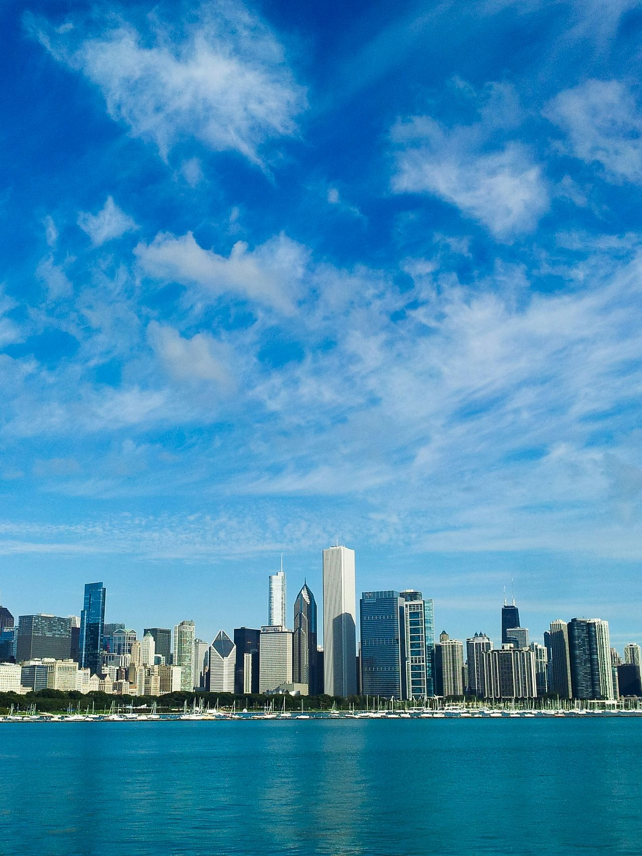 Beautiful stock photos of chicago skyline, Architecture, Blue, Building Exterior, Built Structure