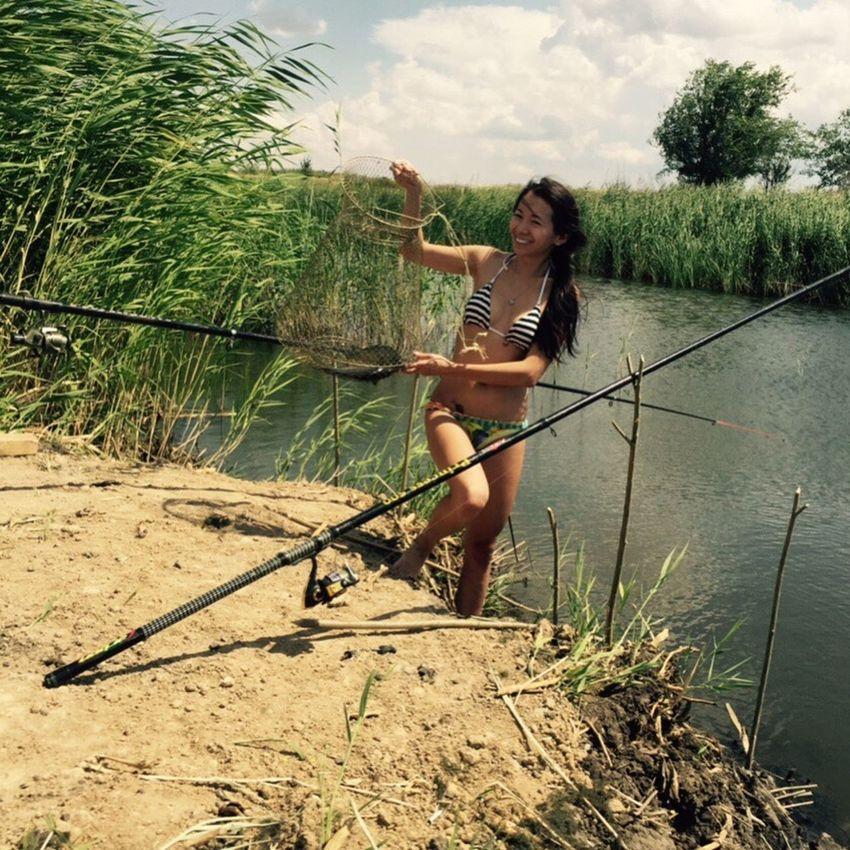 Fishing Holiday POV That's Me