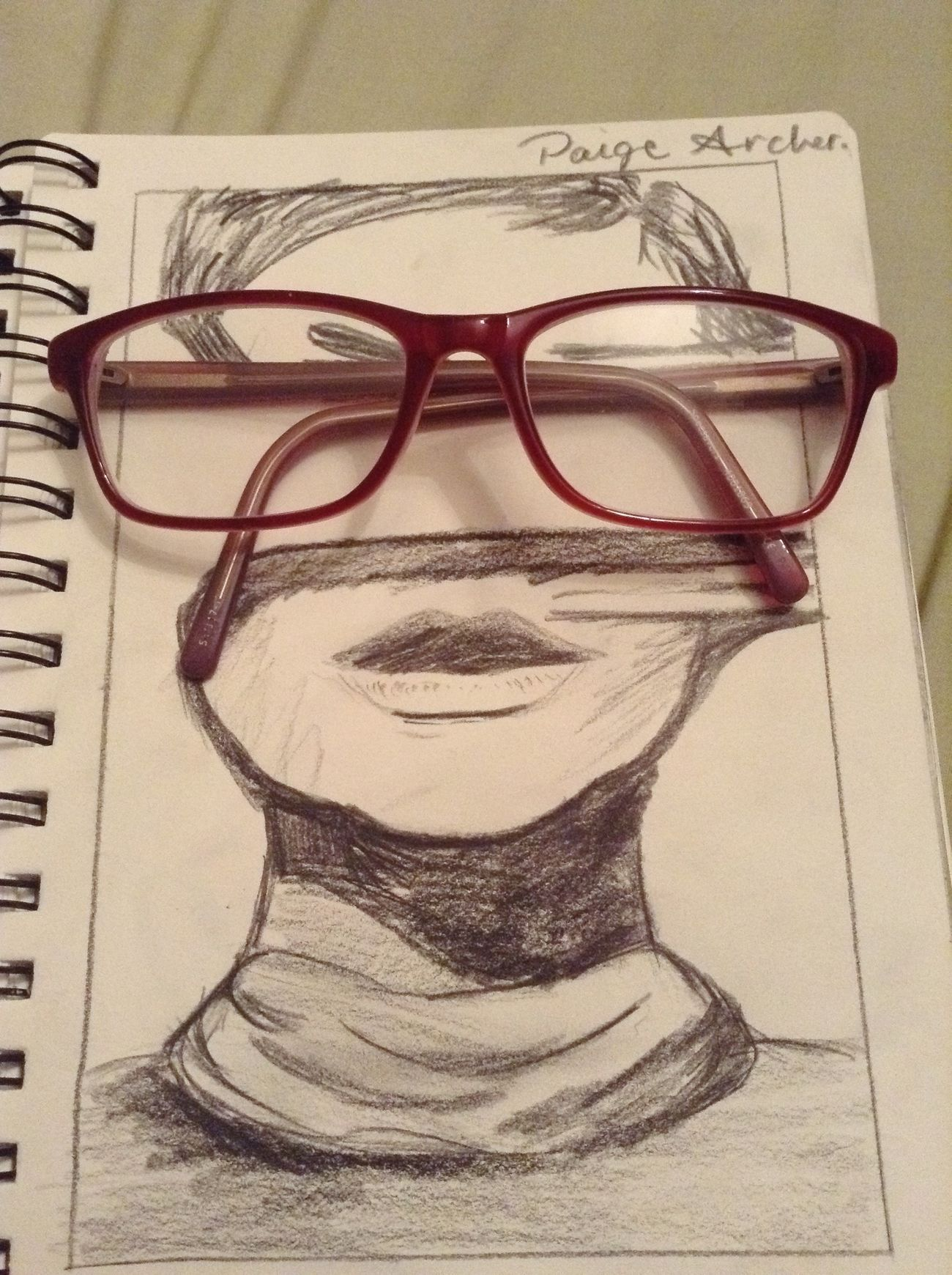 Drawing ✏ Glasses Black And White Cute