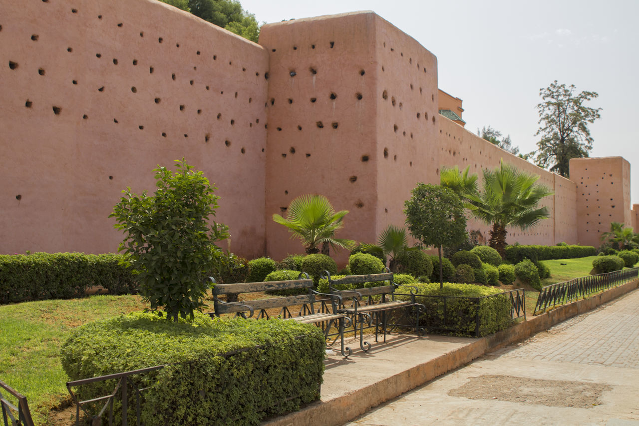 muralla en marrakesh Architecture Building Exterior Built Structure No People Outdoors Tree Wall
