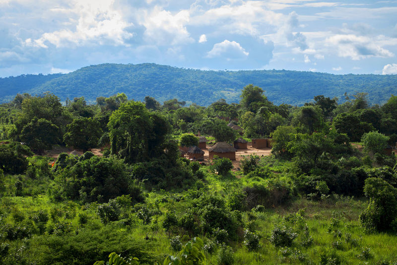 Africa Congo Day Documentary Exploring Full Frame Green Journey Landscape Mountain Mountain Range Outdoors Photojournalism Reportage Showcase: December Taking Photo Tranquil Scene Travel Travel Photography Traveling Travelling Tree Tropical Climate Village Voyage