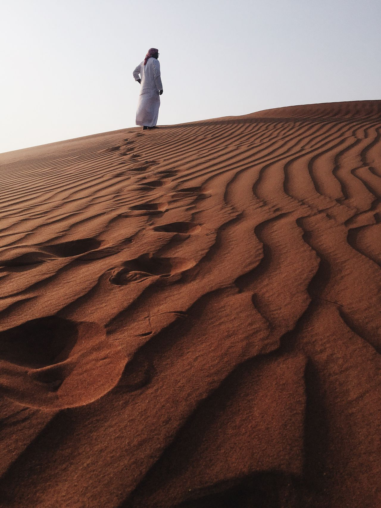 People And Places Sand Dune Sand Wave Pattern IPhone IPhoneography Iphoneonly Scenics Natural Pattern Tranquil Scene Beauty In Nature Desert
