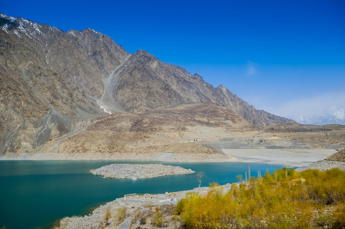 Satpara Lake,Skardu ,Gilgit and Baltistan, Pakistan Satpara Lake Skardu Pakistan Beauty In Nature Blue Day Lake Landscape Mountain Mountain Range Nature No People Outdoors Physical Geography Scenics Sky Tranquil Scene Tranquility Water
