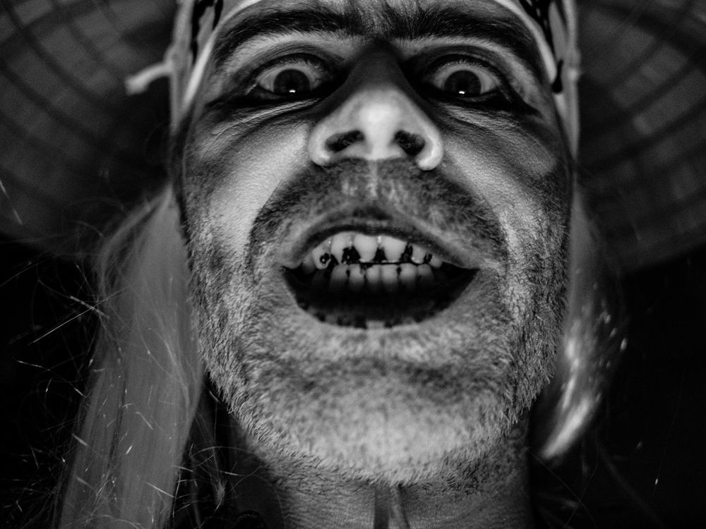4x3 Blackandwhite Close-up Clown Colourful Confidence  Creativity Creepty Dressing Up Front View Halloween Happy Halloween Headshot Horror Human Face Lifestyles London Looking At Camera M43 Outdoors Party Person Portrait Real People Scary Selfportrait Skating