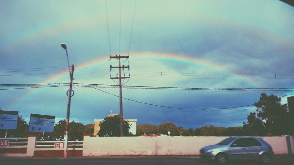 My Smartphone Life Rainbows Double Rainbow Arcoiris Sky Collection Rain Rainy Days