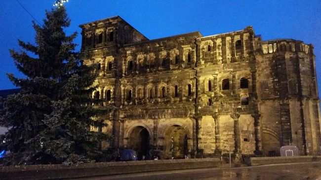 Traveling Porta nigra :) Architectural Travel Photography