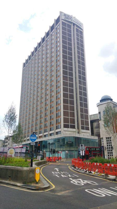 Nestle Tower Old Nestle Hq Croydon Tall Building Town Center Urban Landscape Summer2016