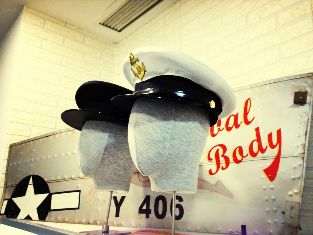 Navy Caps