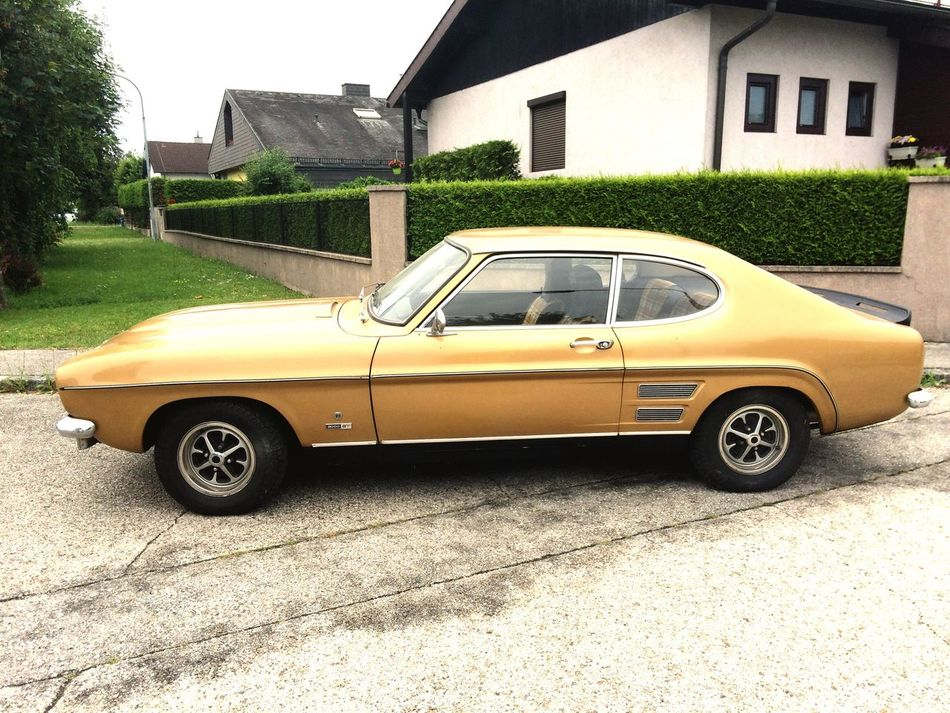 Youngster Ford Capri 2000 Car Retro Styled Beauty car History