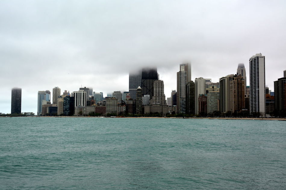 Beautiful stock photos of chicago skyline, Architecture, Building Exterior, Built Structure, Chicago