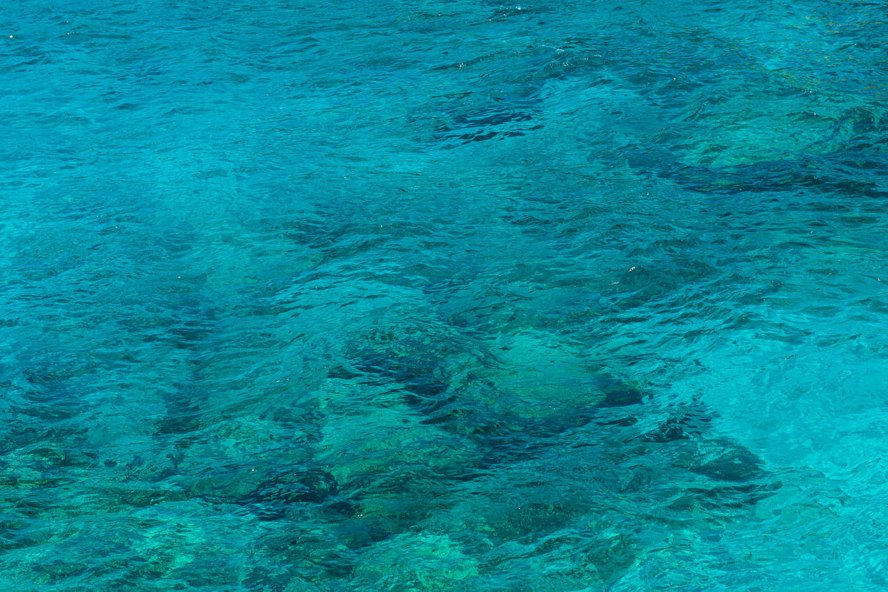 backgrounds, full frame, blue, no people, abstract, textured, sea, rippled, nature, water, day, close-up, beauty in nature, outdoors