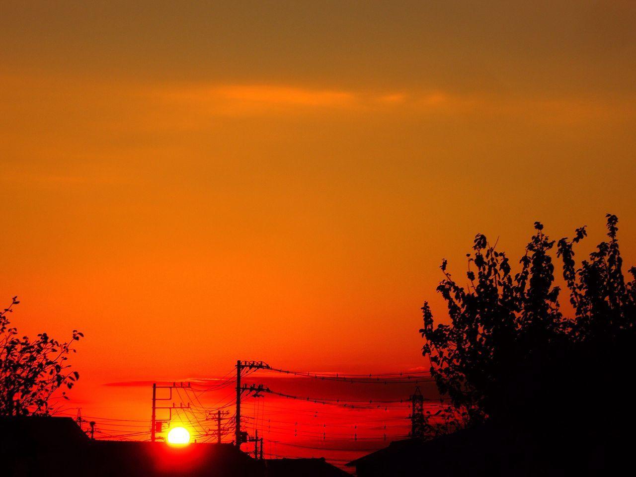 お疲れ様。 NikonP330 Sunset Afterglow Twilight 夕暮れ時