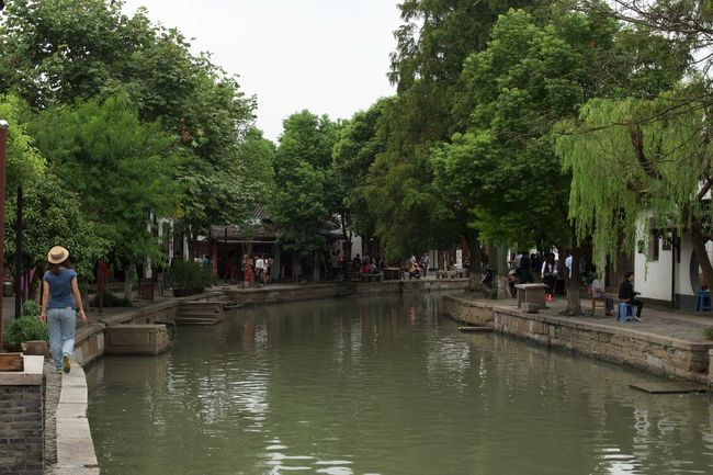 A Walk Along The Water Beauty In Nature Casual Clothing Chinese Culture Day Enjoyment Green Color Growth Leisure Activity Lifestyles Medium Group Of People Nature Outdoors Scenics Sky Tourism Tourist Tranquil Scene Tranquility Tree Vacations Water