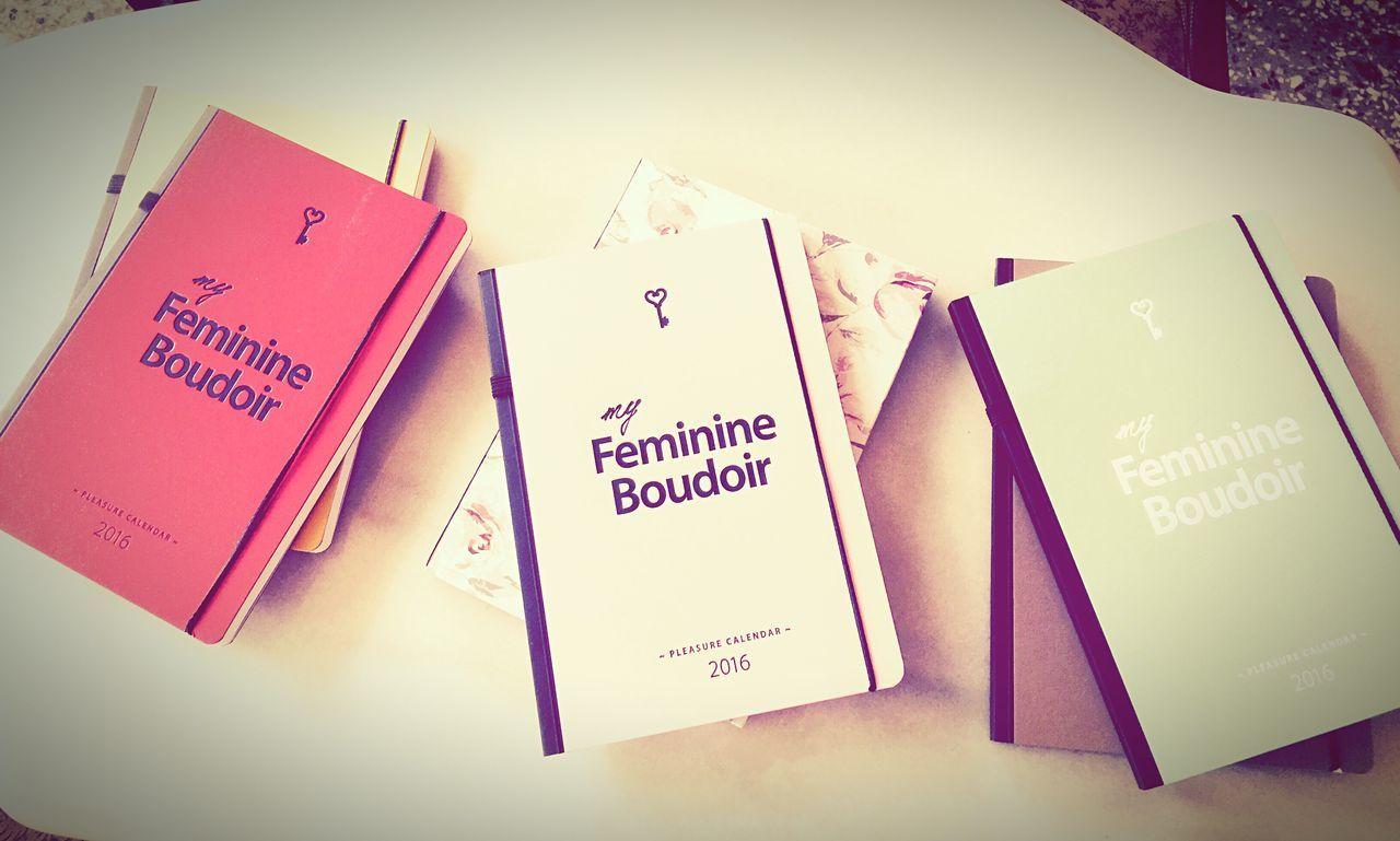 FeminineBoudoir PleasureCalendars FeminineDiaries