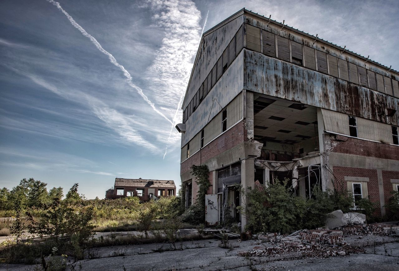Wasteland ☠️ Building Exterior Architecture Built Structure Sky Outdoors No People Cloud - Sky Day Abandoned Abandoned Places Abandoned Buildings Decay