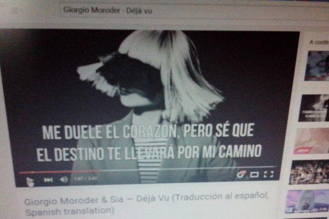 Giorgio Moroder - Daja Vu Happy :) My Music Music My Favorite  My Favorite Music ElectronicMusic Listening To Music EyeEm Music Lover Favorite