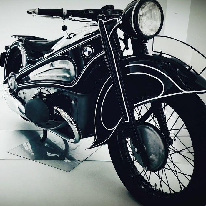 Bmw Museum Motorycle Motory Monachium Motocykle Germany