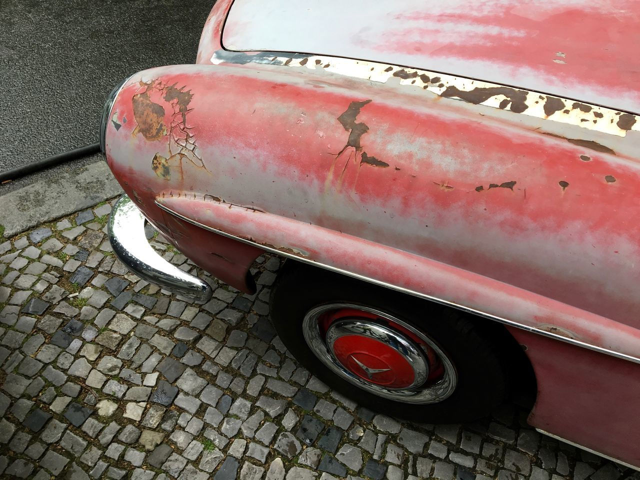 car day Car Cars Close-up Hidden Treasure Lifestyle Mercedes Mercedes-Benz Old Car Oldtimer Parking Red Rusty Streetphotography Vintage