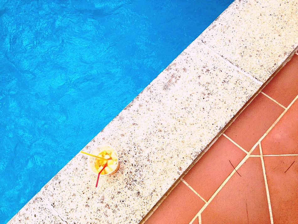 Pool Party Geometric Shapes Swimming Pool Pool Party Summer Views Party Sangria! Glass Colors Fruits Diagonal Perfect Match