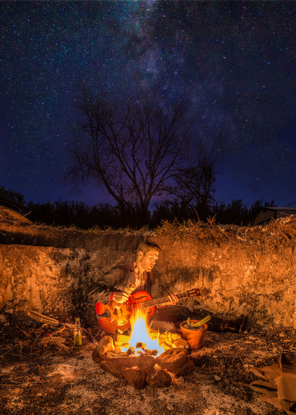 Beautiful stock photos of sterne, night, fire - natural phenomenon, flame, heat - temperature