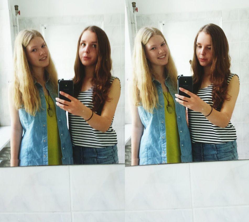 Throwback Bestfriends <3 Mirror Pics ✌