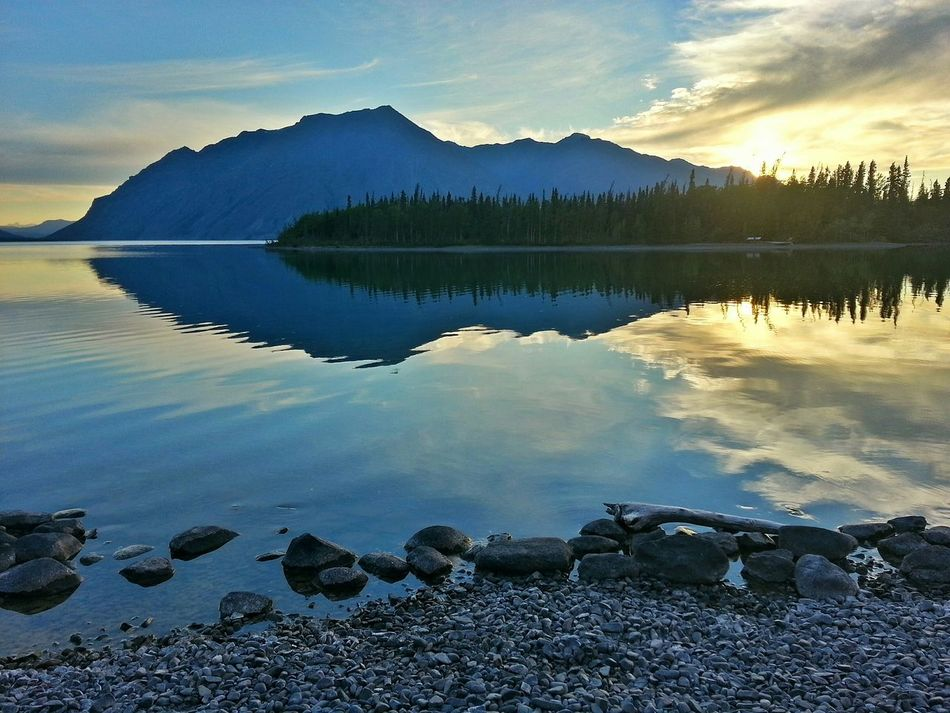Kathleen lake in kluane national park. Yukon territory Hdr_Collection Canada Coast To Coast Samsung Galaxy S III Vacation Kluane National Park & Reserve Yukon