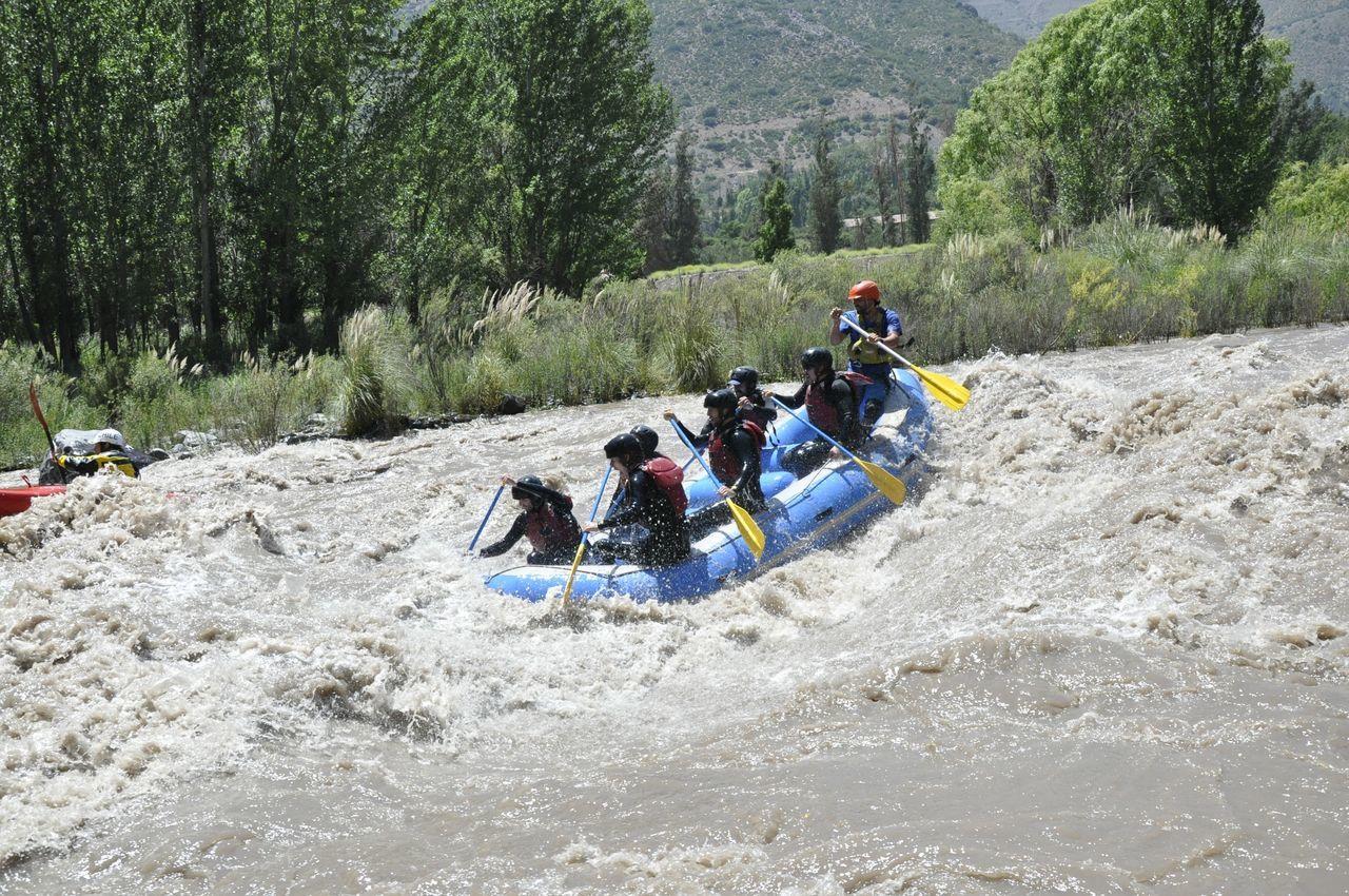 Rafting Maipo Rio River Sport Turism Chile Alternative Fitness