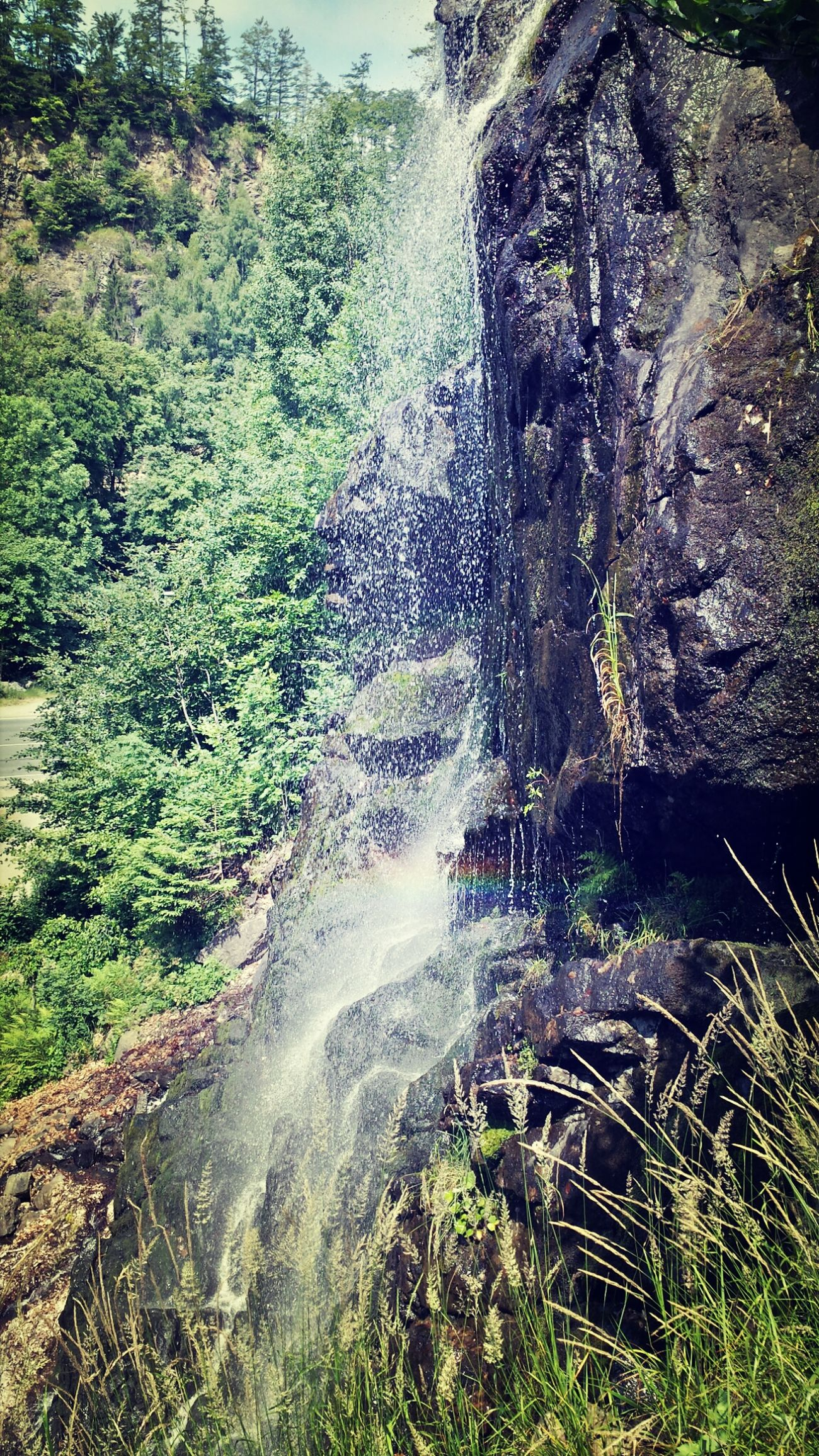 Dont Be Square Harz Bad Harzburg Wasserfall #regenbogen