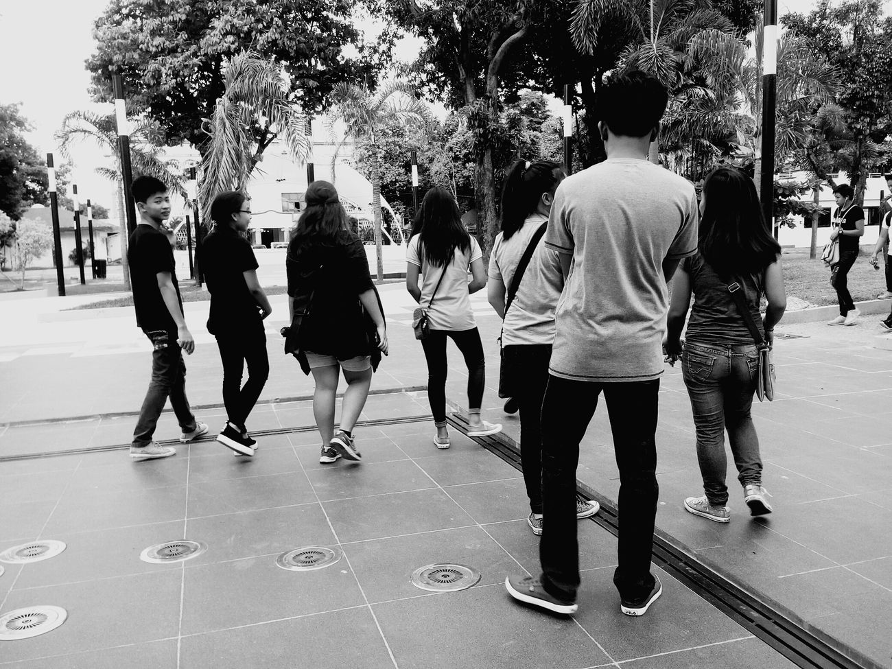 Gather once in a while with your friends..Walking Around The City  Friends Reconnecting  Plaza Squad VacayMode TeamAugust Ailapost AVPhotography