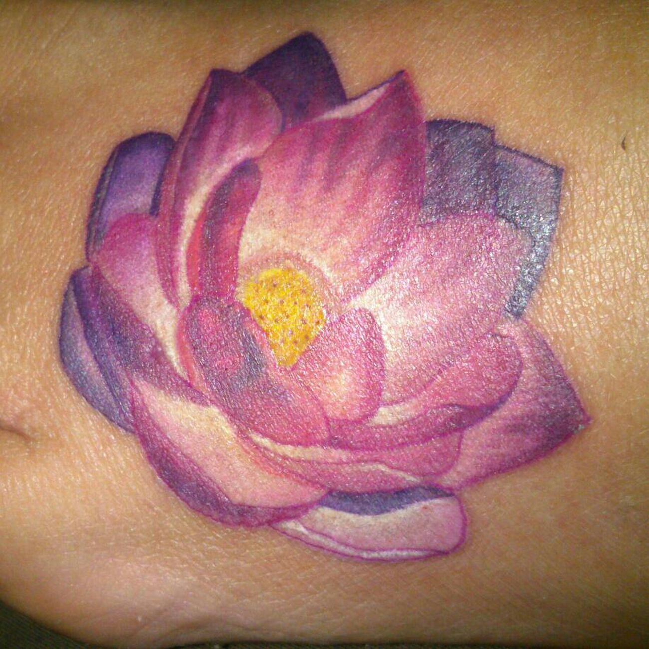 Per4store Tattoo with Cata No Edit/no Filter Lotus Flower