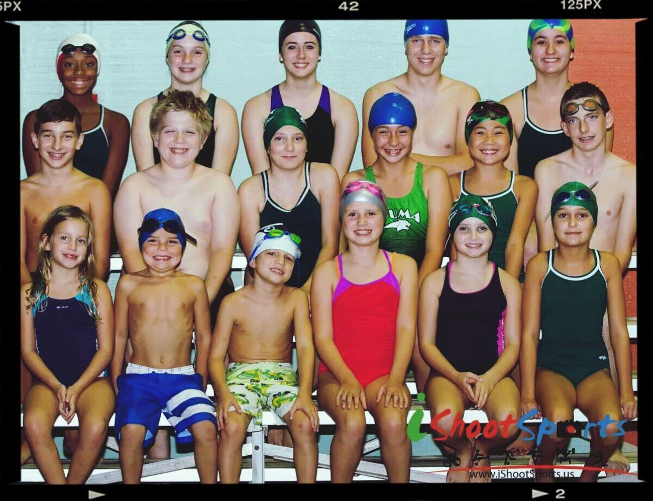 Muskogee Sharks Swim Team Fall 2014 Running