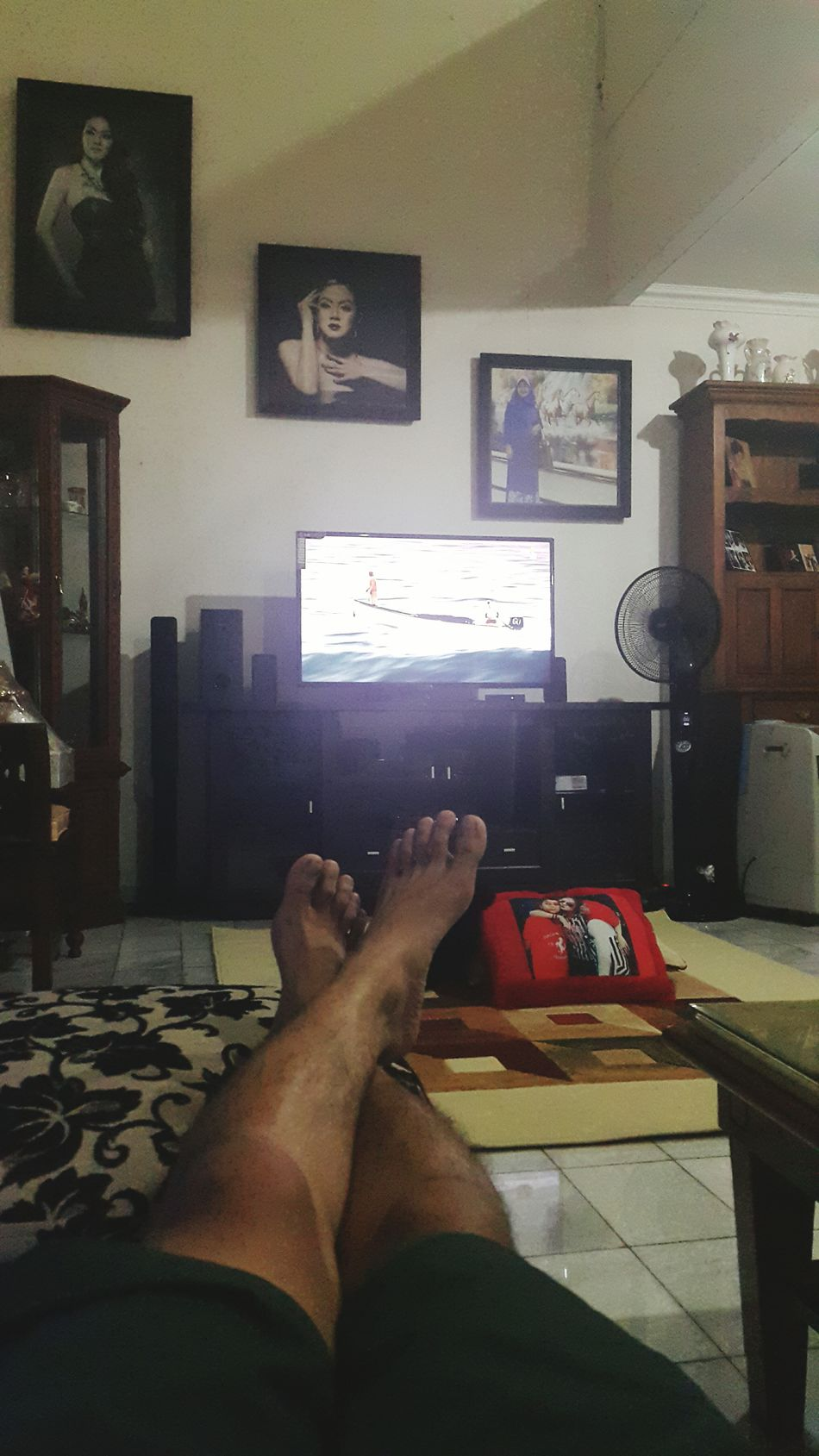 Watching Tv Home Sweet Home That's Me Jakarta INDONESIA