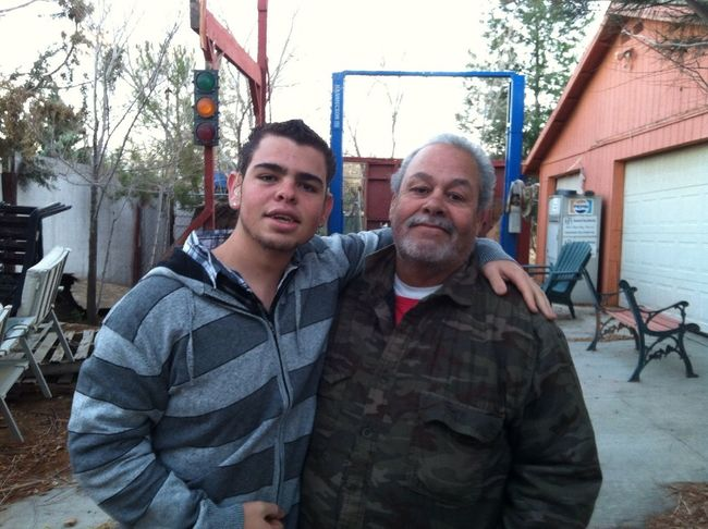 My Brother In Law And His Uncle Pepe.