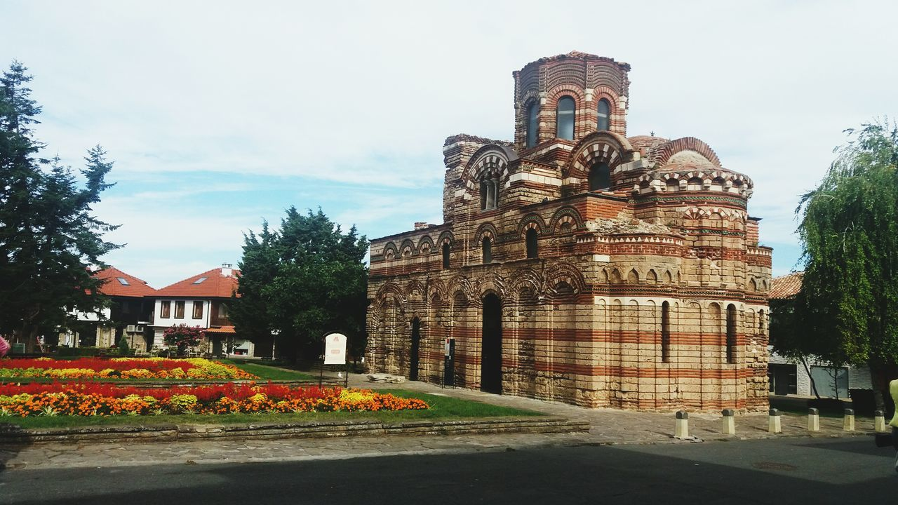 Architecture Building Exterior Built Structure Outdoors Old Buildings Oldtown Seatown Nessebar Bulgaria Nature