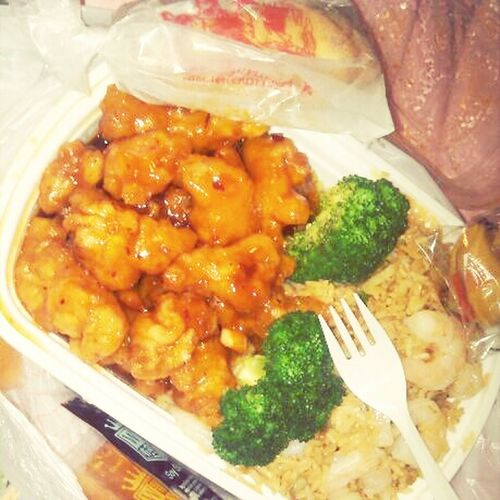 My Food Is Here! YUMMY! ♥(: